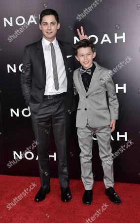 Logan Lerman and Nolan Gross