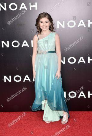 Editorial image of 'Noah' film premiere, New York, America - 26 Mar 2014