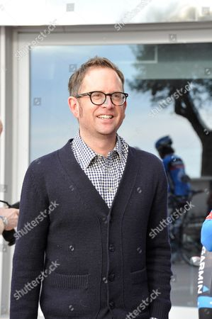 Calpe Spain - January 16: Jonathan Vaughters Ceo And General Manager Of Uci Professional Cycling Team Garmin-sharp Photographed At A Training Camp In Calpe Spain January 16