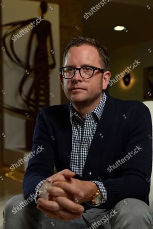 Calpe Spain - January 16: Jonathan Vaughters Ceo And General Manager Of Uci Professional Cycling Team Garmin-sharp, Procycling Magazine January 16