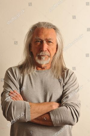 Editorial picture of M. John Harrison Portrait Shoot
