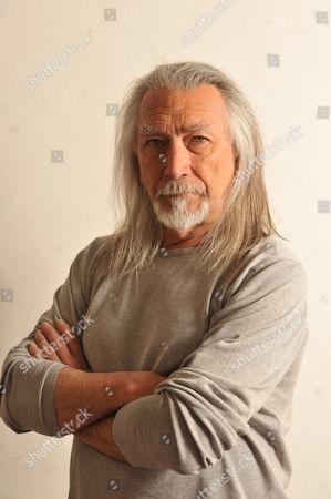 Editorial photo of M. John Harrison Portrait Shoot