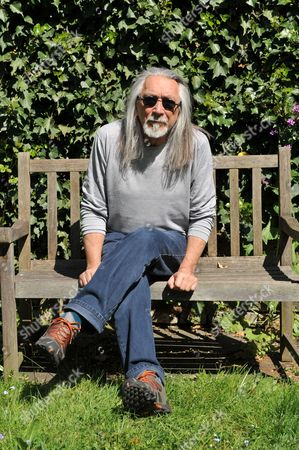 Editorial image of M. John Harrison Portrait Shoot