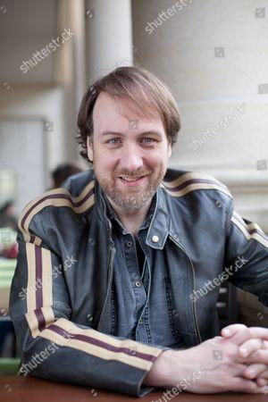 Editorial picture of Mitch Benn Portrait Shoot