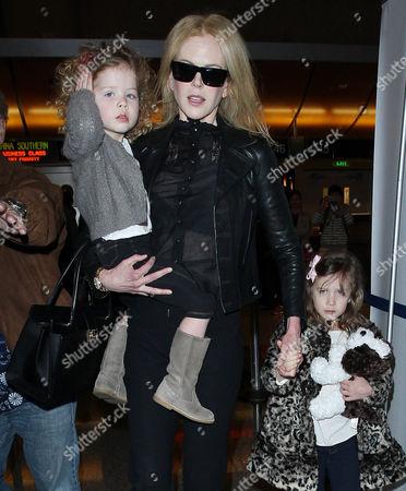 Nicole Kidman, Faith Urban, Sunday Rose Urban