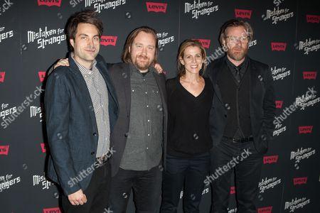Craig Charland, Tom Berninger, Carin Besser and Matt Berninger