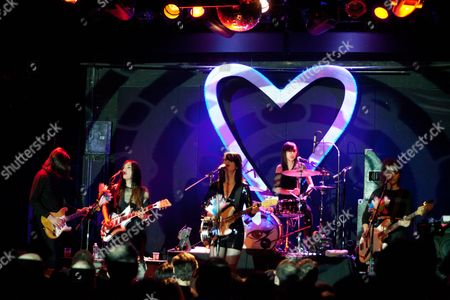 Editorial picture of Dum Dum Girls in concert at The Bowery Ballroom, New York, America - 25 Mar 2014