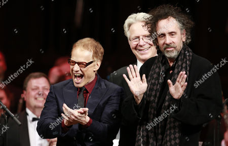 Editorial image of Concert of music by Danny Elfman for films by Tim Burton, Prague, Czech Republic - 25 Mar 2014