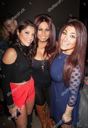 Brittany Baldassari, Tracy DiMarco, Deena Nicole Cortese