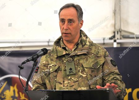 Major General Tim Radford DSO OBE, General Officer Commanding Force Troops Command