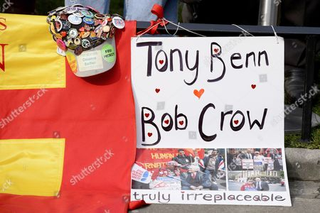 Tribute to Tony Benn and Bob Crow