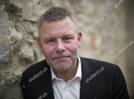 Stock Image of Award winning Swedish crime novelist Arne Dahl
