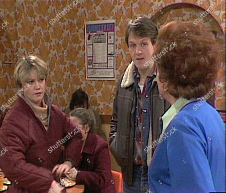 Kevin Whately and Patricia Phoenix