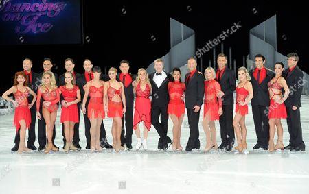 Editorial photo of Dancing on Ice tour photocall, Manchester, Britain - 27 Mar 2014