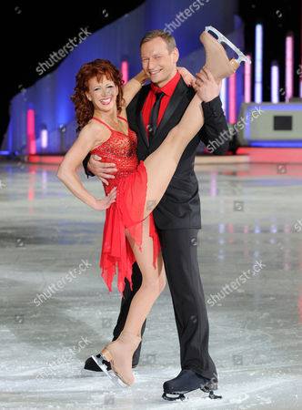 Stock Picture of Bonnie Langford and Andrei Lipanov