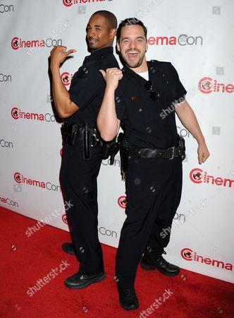 Damon Wayans and Jake Johnson