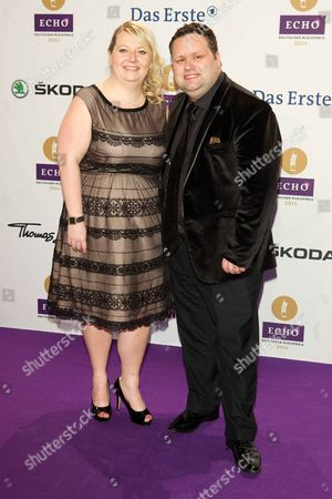 Paul Potts with wife Julie-Ann Potts