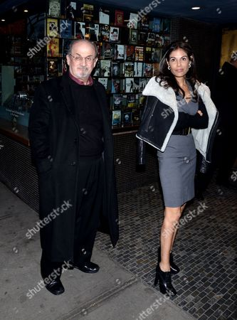 Sir Salman Rushdie and Missy Brody