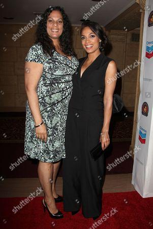 Isabel Celeste and Rosario Dawson