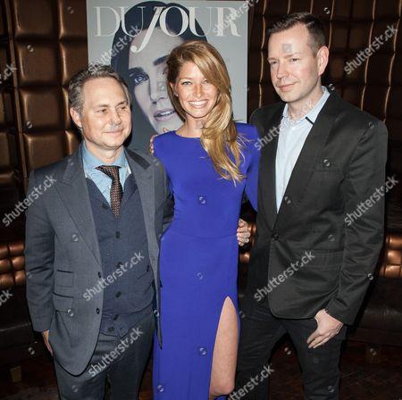 Jason Binn, Heide Lindgren and Conor Kennedy