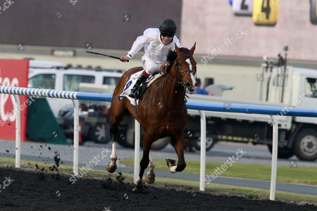 Toast Of New York ridden by Jamie Spencer trained by Jamie Osborne and owned Mr. Michael Buckley by wins race 4.