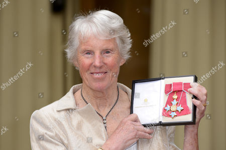 Stock Picture of Ann Haydon-Jones, becomes a Commander of the Order of the British Empire services to Tennis