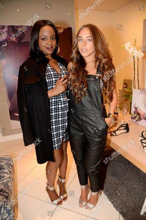 Keisha Buchanan and Chloe Green