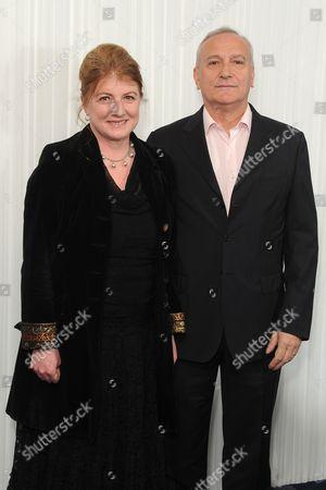 Felicity Montagu and Simon Greenall