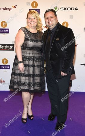 Stock Image of Paul Potts with wife Julie-Ann Potts