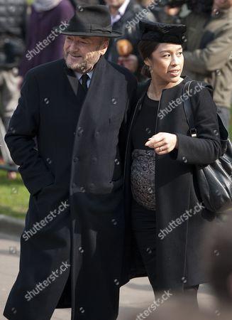 George Galloway and wife Putri Gayatri Pertiwi