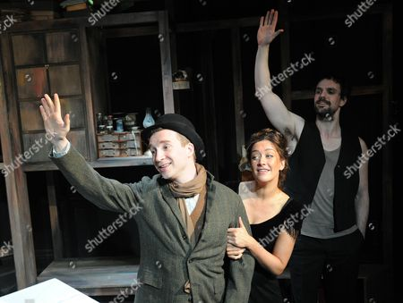 Jeremy Legat Camille,  Julie Atherton asTherese, Ben Lewis as Laurent,