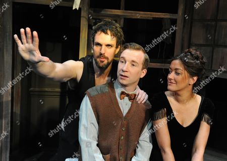 Stock Picture of Ben Lewis as Laurent,  Jeremy Legat Camille,  Julie Atherton as Therese,