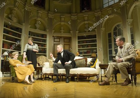 Patricia Hodge as Felicity, Caroline Quentin as Moxie, Rory Bremner as Crestwell, Steven Pacey as Peter