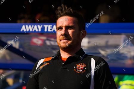 Blackpool Player Manager Barry Ferguson