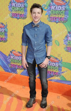 Editorial image of Nickelodeon's 27th Annual Kids Choice Awards, Arrivals, Los Angeles, America - 29 Mar 2014