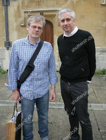 Mark Haddon and Andrew Kidd