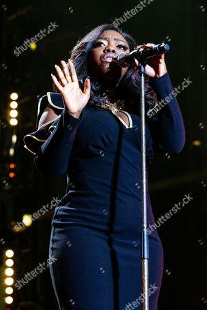 Editorial photo of X Factor Live at the LG Arena, Birmingham, Britain - 29 Mar 2014