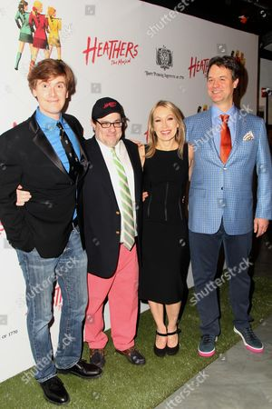 Laurence O'Keefe, Andy Fickman, Marguerite Derricks and Kevin Murphy