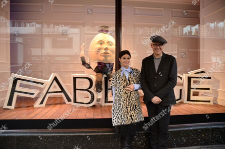 Editorial picture of Faberge Easter at Harrods, press launch, Harrods, London, Britain - 01 Apr 2014