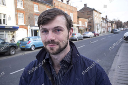 Editorial picture of Nick Hunt 'Walking the Woods and the Water' book promotion, Berkshire, Britain - 01 Apr 2014