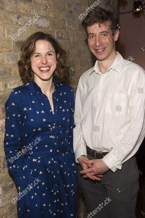 Amanda Hale and Michael Colgan