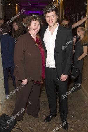 Stock Photo of Rosemary Squire and Dan Brodie