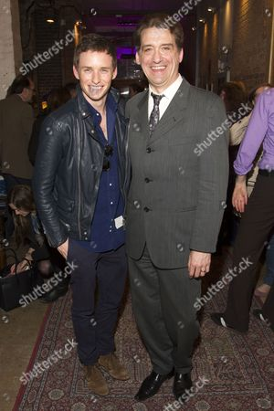 Stock Picture of Eddie Redmayne and Simon Dormandy