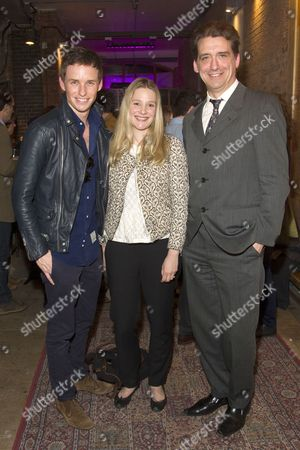 Eddie Redmayne, Romola Garai and Simon Dormandy