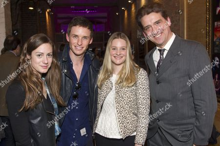Hannah Bagshawe, Eddie Redmayne, Romola Garai and Simon Dormandy