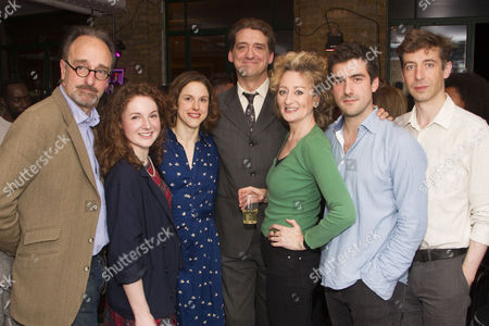 Mark Tandy, Eva Feiler, Amanda Hale, Simon Dormandy, Sian Thomas, Nicholas Bishop and Michael Colgan