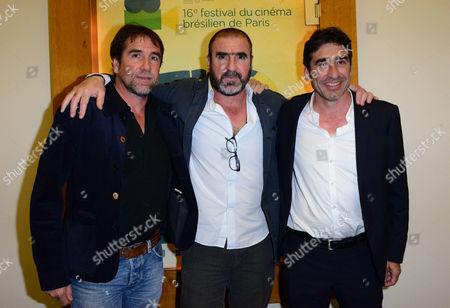 Jean-Marie Cantona, Eric Cantona and Joel Cantona