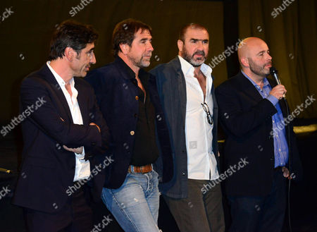 Stock Image of Jean-Marie Cantona, Eric Cantona and Joel Cantona