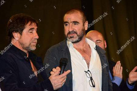 Jean-Marie Cantona and Eric Cantona