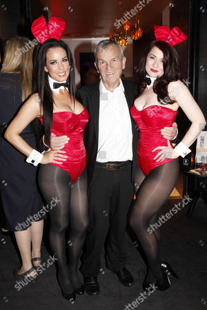 Stock Image of Lord Matthew Evans and bunnies